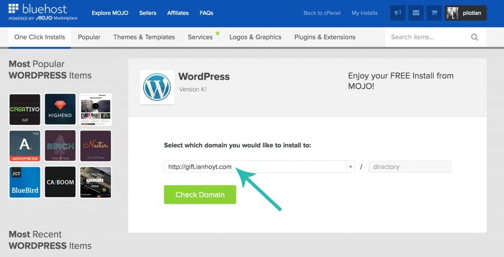Download wordpress on website | Life Nomading