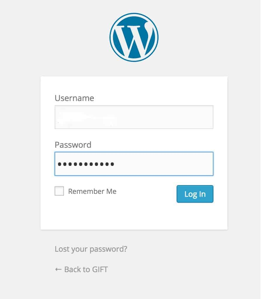 Wordpress Login Tutorial | Life Nomading