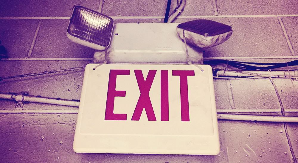 Exit Sign | Life Nomad