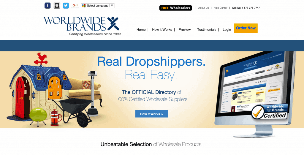 World Wide Brands for dropshipping