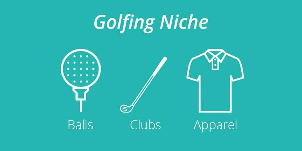 Golfing products