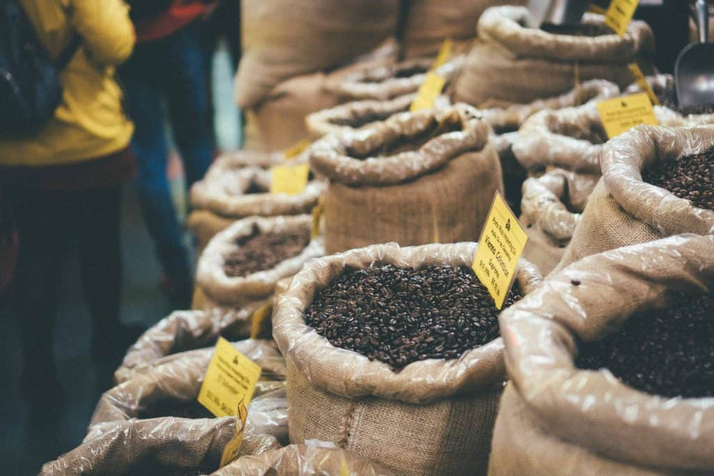 Porto Rico Importing Co. Tea and Coffee - New York City