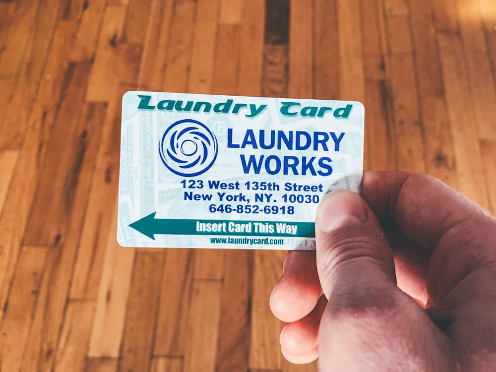 nyc laundromat card