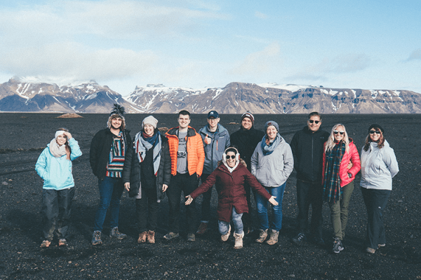 remote team retreat to iceland